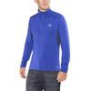 Salomon Agile Warm Hardloopshirt lange mouwen Heren blauw